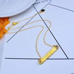 💕Michael Kors Zircon Inlay Clavicle Necklace